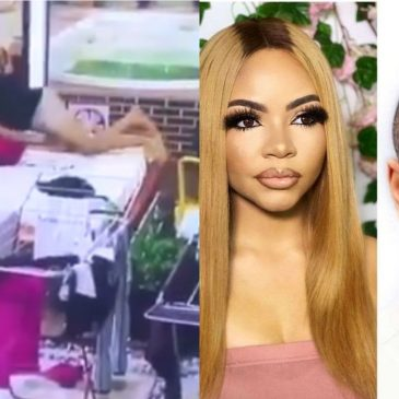 #Bbnaija : Moments When Ozo Jumped And Slept On Nengi (Videos And Photos).