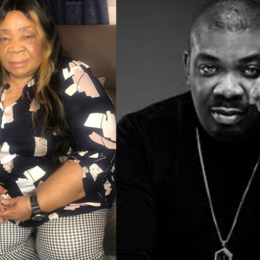 Don Jazzy Celebrates His Mum As She Is A Year Older Today(See Photos).