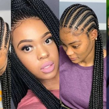 Latest Ghana weaving cornrow and Shuku Hairstyles