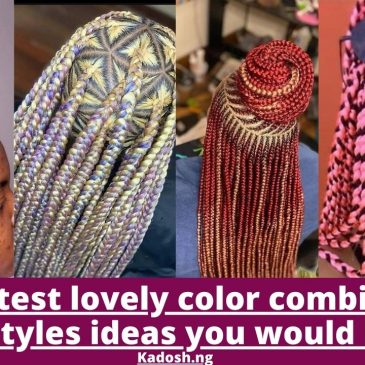 2021 Latest lovely color combination hairstyles ideas you would love