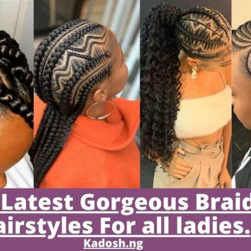 2021 Latest Gorgeous Braided Hairstyles For all ladies.