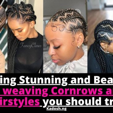 Amazing,Stunning and Beautiful Ghana weaving Cornrows and Zig-zag hairstyles you should try next.