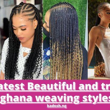 2021 latest Beautiful and trending ghana weaving styles