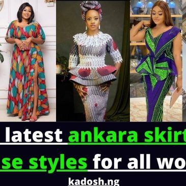 2021 latest ankara skirt and blouse styles for all women
