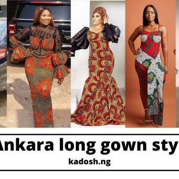 Latest Ankara long gown styles 2021
