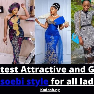 2021 latest attractive and Gorgeous asoebi style for all ladies