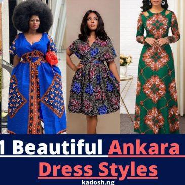 2021 Beautiful Ankara Maxi Dress Styles