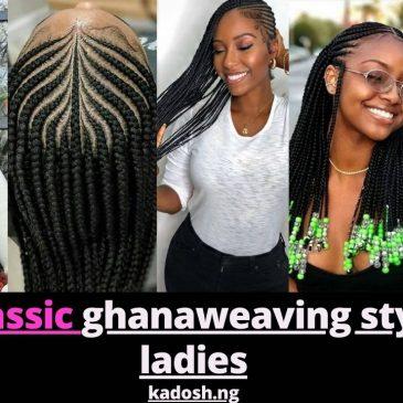 2021 Classic ghanaweaving styles for ladies