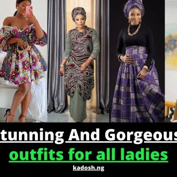 Latest stunning And Gorgeous Ankara outfits for all ladies