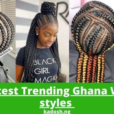 2021 Latest Trending Ghana Weaving styles