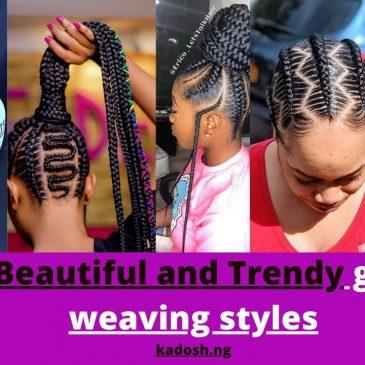 Big,Beautiful and Trendy ghana weaving styles